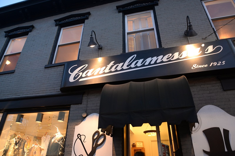 Cantalamessa Formals exterior sign, Uniontown, PA