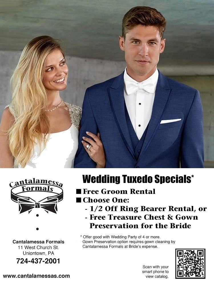 2019 Wedding Tuxedo Special at Cantalamessa's