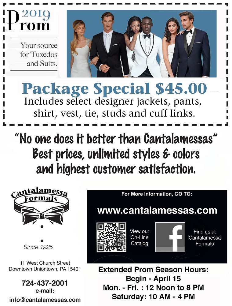 2019 Prom Special at Cantalamessa's